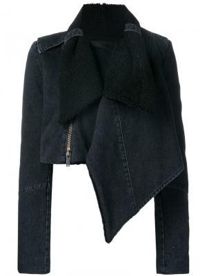 Драпированная джинсовая куртка Unravel Project