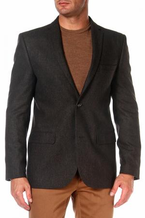 Пиджак mishelin. Цвет: коричневый