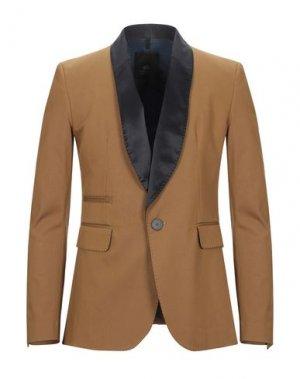 Пиджак TOM REBL. Цвет: верблюжий