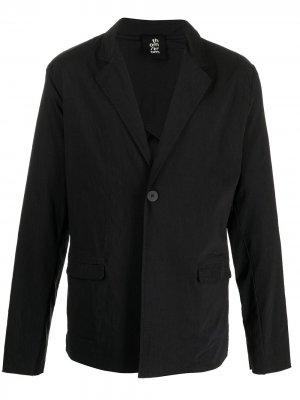 Однобортный пиджак Thom Krom. Цвет: черный