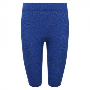 Хлопковые шорты Kenzo. Цвет: синий