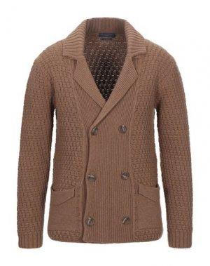 Пиджак DANIELE FIESOLI. Цвет: коричневый