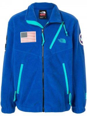 Флисовая куртка TNF Expedition Supreme. Цвет: синий