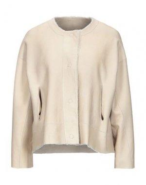 Куртка BENEDETTA NOVI. Цвет: бежевый