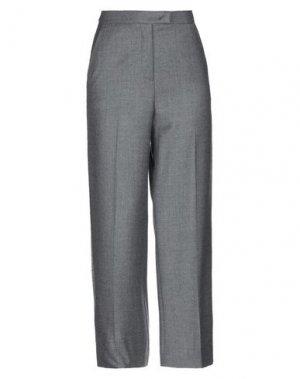 Повседневные брюки VIA MASINI 80. Цвет: серый