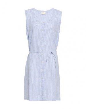 Короткое платье AMERICAN VINTAGE. Цвет: синий