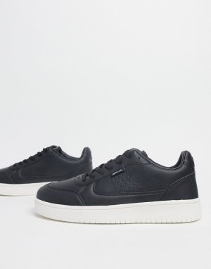 Черные теннисные кроссовки -Черный цвет Lambretta