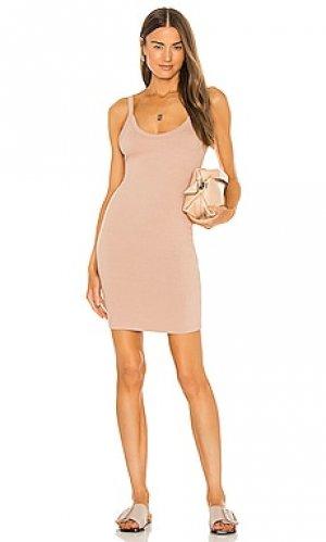 Платье chriselle LNA. Цвет: nude