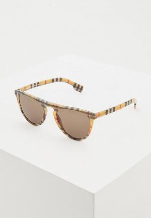 Очки солнцезащитные Burberry BE4281 3778/3. Цвет: коричневый