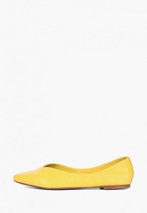 Балетки Respect. Цвет: желтый