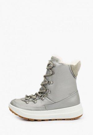Ботинки Ecco SOLICE K. Цвет: серебряный