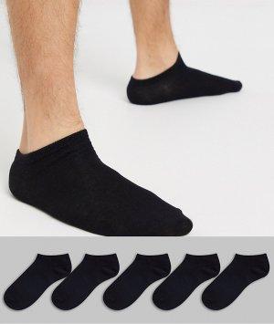 5 пар спортивных носков -Черный Brave Soul