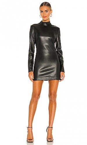 Мини платье harley Bardot. Цвет: черный