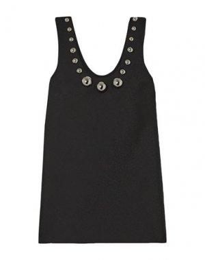 Короткое платье CHRISTOPHER KANE. Цвет: черный