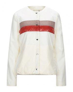 Куртка CIESSE PIUMINI. Цвет: слоновая кость