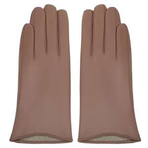Перчатки Alla Pugachova AP33194-macaroon-21Z. Цвет: коричневый
