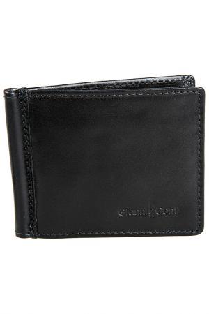 Зажим для денег Gianni Conti. Цвет: черный