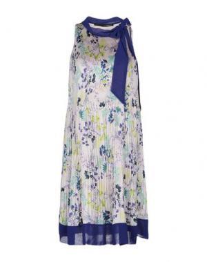 Короткое платье ANNARITA N. Цвет: светло-розовый