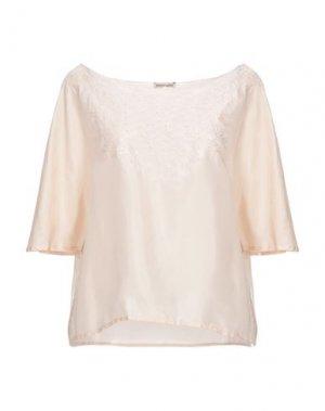 Блузка EMMA & GAIA. Цвет: светло-розовый