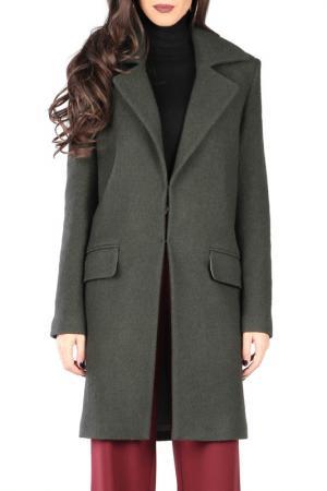 Пальто CARLA BY ROZARANCIO. Цвет: dark green