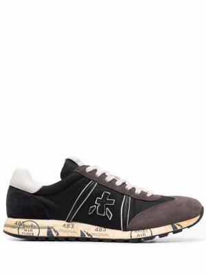 Кроссовки со вставками Premiata. Цвет: черный