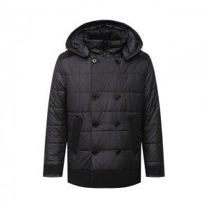 Утепленная куртка Dolce & Gabbana. Цвет: чёрный