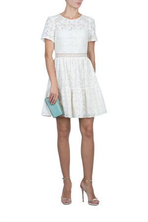 Платье Blugirl. Цвет: бежевый
