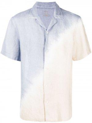 Рубашка с принтом тай-дай Altea. Цвет: синий