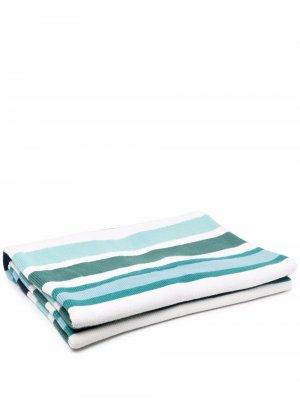 Одеяло в полоску AMI AMALIA. Цвет: синий