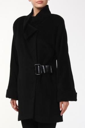 Пальто Александра Веталика. Цвет: черный