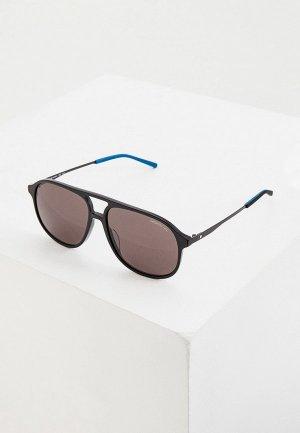 Очки солнцезащитные Montblanc MB0118S. Цвет: черный