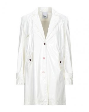 Легкое пальто JIJIL. Цвет: белый