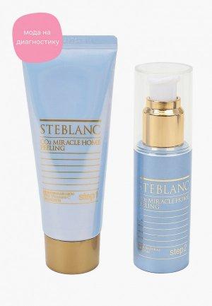 Пилинг для лица Steblanc CO2 Miracle Home Peeling, 2х50 мл. Цвет: прозрачный