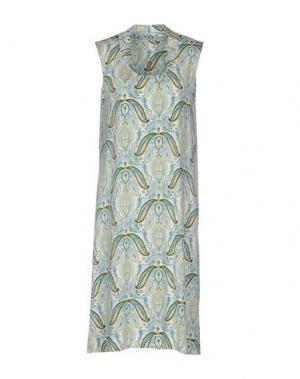 Платье до колена ALPHA STUDIO. Цвет: зеленый