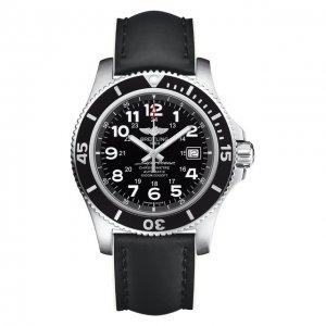 Часы Superocean II Black Breitling. Цвет: чёрный