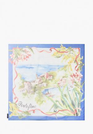 Платок Dolce&Gabbana. Цвет: синий