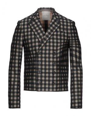 Пиджак MARCO DE VINCENZO. Цвет: черный