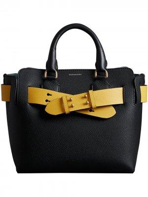 Маленькая сумка Belt Burberry. Цвет: черный