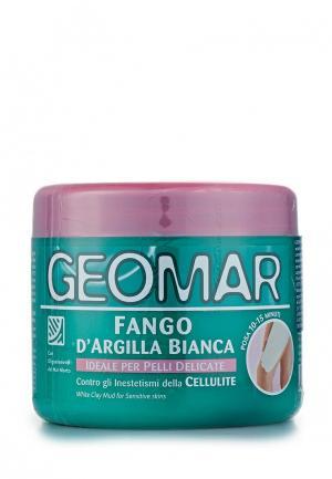 Глина для тела Geomar белая 500 мл. Цвет: белый