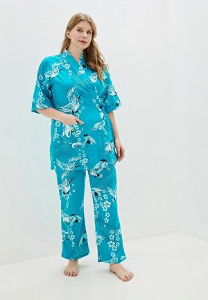 Комплект El Fa Mei. Цвет: голубой