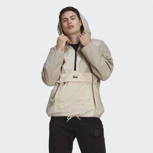 Ветровка R.Y.V. Originals adidas. Цвет: коричневый