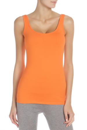 Майка Веста. Цвет: оранжевый