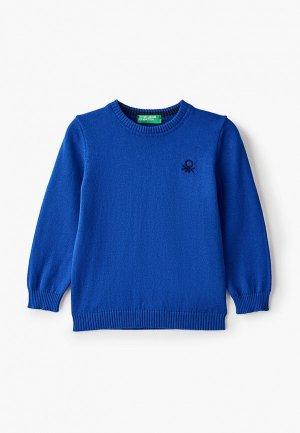 Джемпер United Colors of Benetton. Цвет: синий