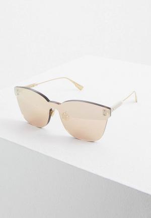 Очки солнцезащитные Christian Dior DIORCOLORQUAKE2 DDB. Цвет: золотой