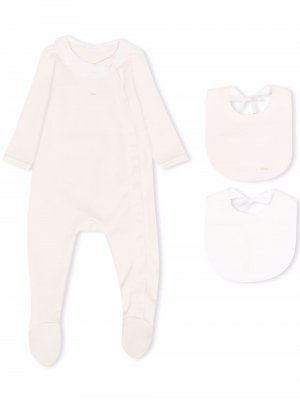 Pyjamas and bib set Chloé Kids. Цвет: розовый