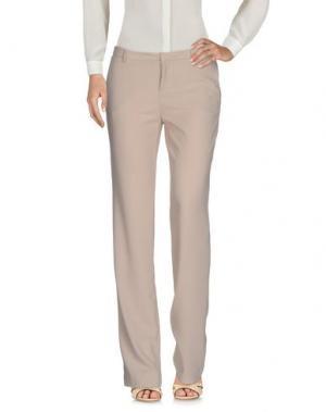 Повседневные брюки NERO GIARDINI. Цвет: бежевый