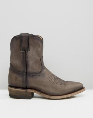 Кожаные ботинки в стиле вестерн Billy Frye. Цвет: серый