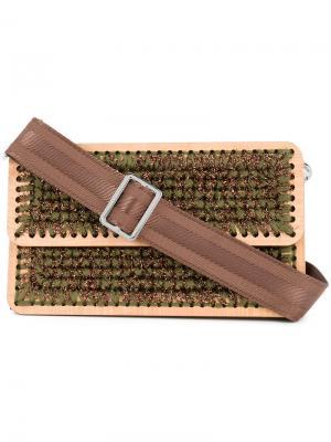 Плетеная сумка через плечо Juliete St. Tropez 0711. Цвет: коричневый