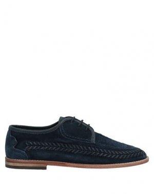 Обувь на шнурках HUDSON. Цвет: темно-синий