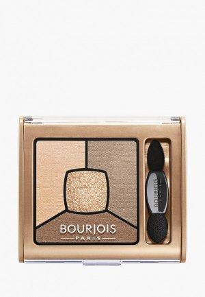 Палетка для глаз Bourjois Smoky Stories, 013.. Цвет: коричневый